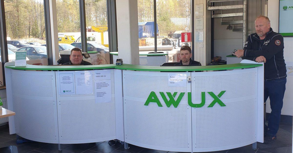 Awux Rauma on kolarivaurioiden palvelukeskus