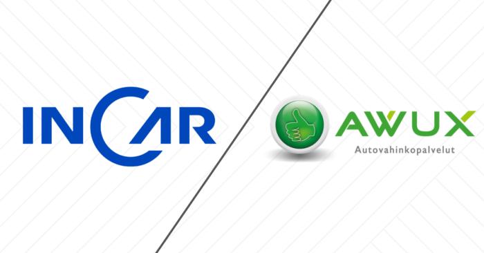 Suomen suurin kolarivaurioiden korjaaja InCar Oy ja alan johtavien yrittäjien Awux-verkosto yhdistyvät
